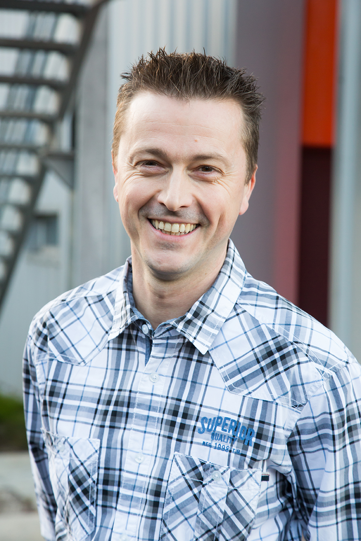 Jean-François, responsable audiovisuel et event