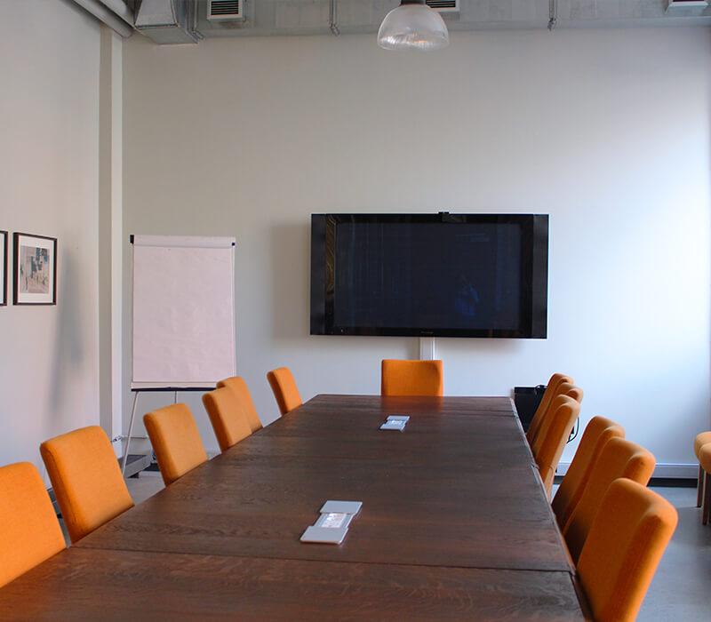 Salle du conseil configuration non covid